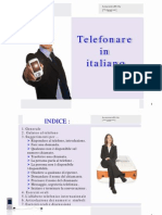 Telephoning in Italian