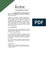 Edital de Concurso Publico 1-2008