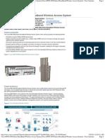 Cisco BWX 8300 Series Broadband Wireless Access (WiMAX) System 2010-03-09