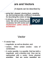 Vector and Scalar