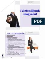 Telephoning in Hungarian