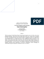 East-West Integration and the Changing German Production Regime