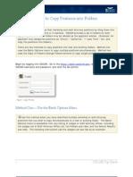 Copy Positions Into Folders