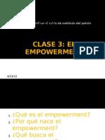 Clase 3 Arh2 El Empowerment