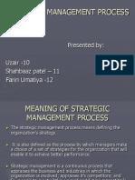 Strtegic Management Process