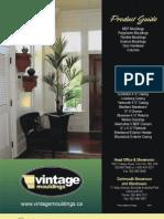 Vintage Moldings Catalogue