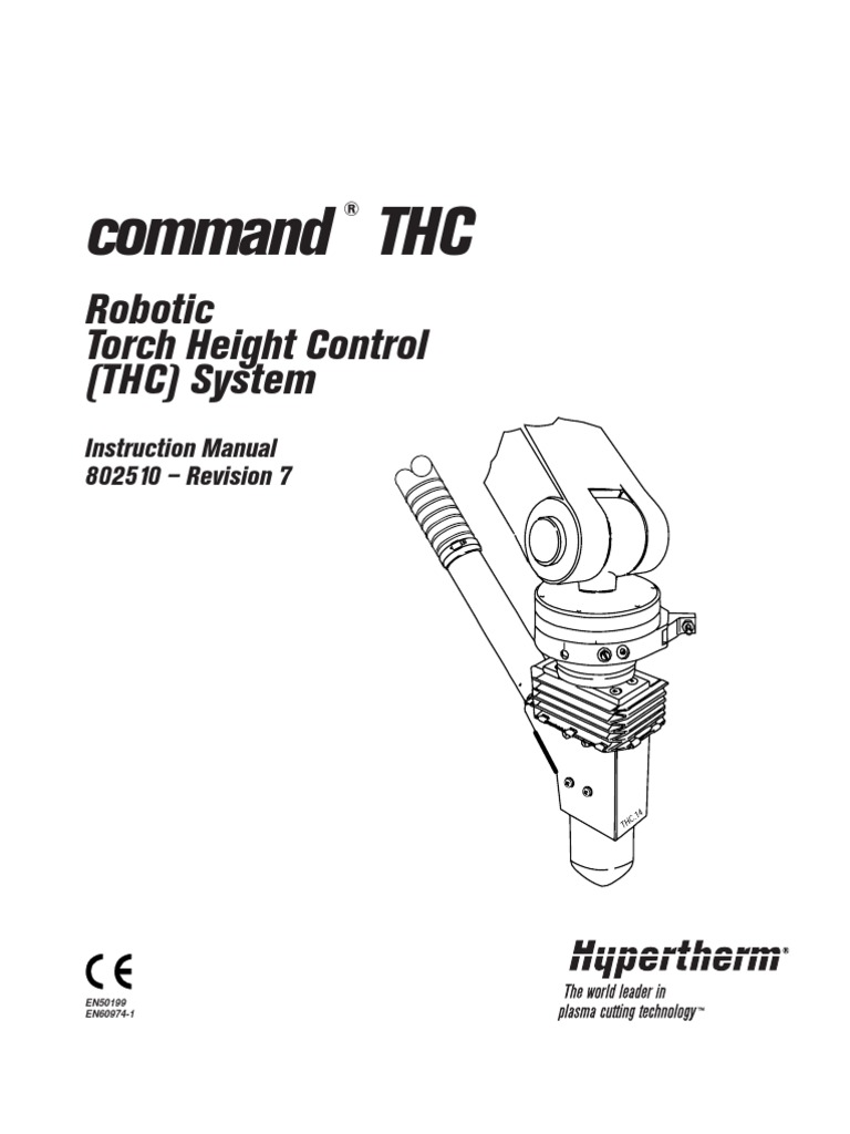 command THC: Robotic Torch Height Control (THC) System