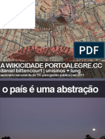 Wikicidade | Secop 2011
