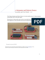 Guid_Volume Atenuator and Source Selection
