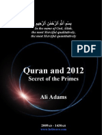 Quran & Primary Numbers
