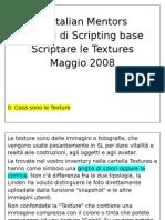SL Italian Mentors-Scripting Textures