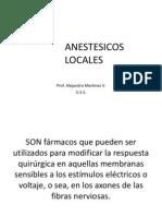 Clase Anestesicos Locales