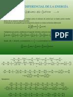 Ecuacion Diferencial de La Energa Mecanica de Fluidos