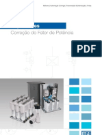 WEG Capacitores Para Correcao Do Fator de Potencia 50009818 Catalogo Portugues Br