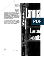 Bloomfield Leonard - Language (1933)