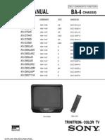 Sony Kv29sl40 Chassis Ba-4 [ET]