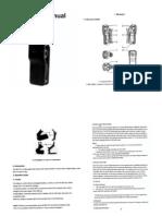 DV-EG002 Maunal - Larger Print