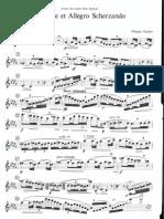 Gaubert - Nocturne Et Allegro Scherzando - Flute