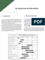 12 Criterios de Selección de Explosivos