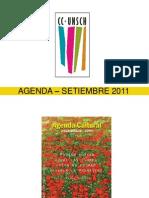 AGENDA – SETIEMBRE 2011