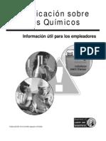 Modelo de programa de comunicación de peligros quimicos