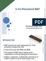 Math Co Processor 8087