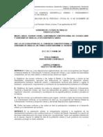 Hidalgo_ley de Asentamientos