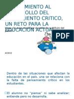 5. Acercamiento Al Desarrollo Del to Critico