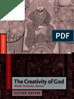 (Cambridge Studies in Christian Doctrine)Oliver Davies-The Creativity of God World, Eucharist Reason -Cambridge University Press(2004)