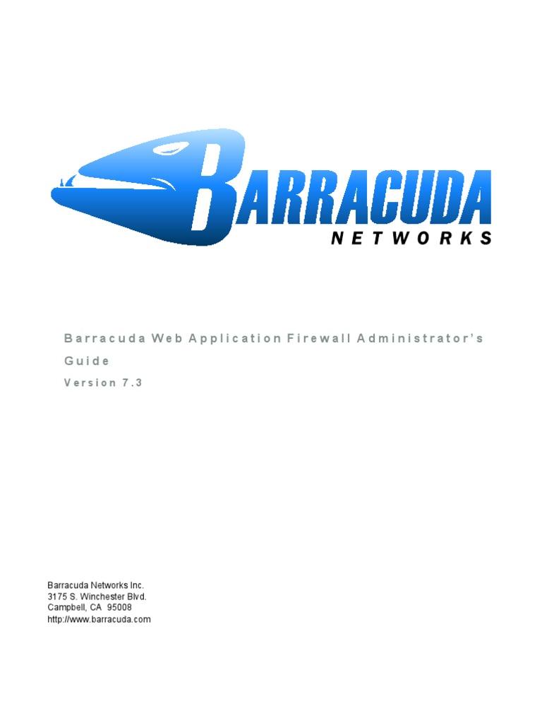 Barracuda Waf Admin Guide | Http Cookie | Tecnología