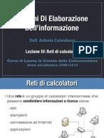 Sistemi Lezione III Reti Di Calcolatori