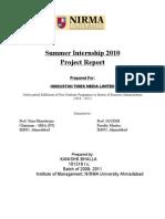 Report Summer