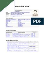 Curriculum Vitae VHHR83