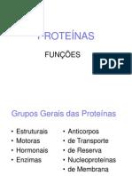 aula 04 - Proteínas - funções