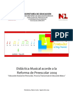 Didactic a Musical