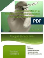 Consideraciones Generales en la Atención del Paciente