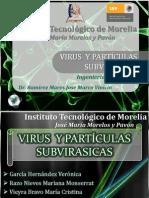 Virus y Partculas Subvirasicas