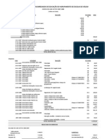 Relatório de contas 2007 2008