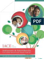 8º - Instrumento de Autoevaluación de la Calidad Educativa para Escuelas Primarias - Elena Duro - Olga Niremberg - IACE.