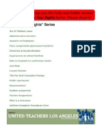 UTLA Know Your Rights - Complete