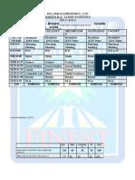 2010 2011Brown Schedule