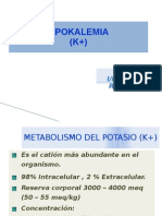 Metabolismo Del Potasio (k+)