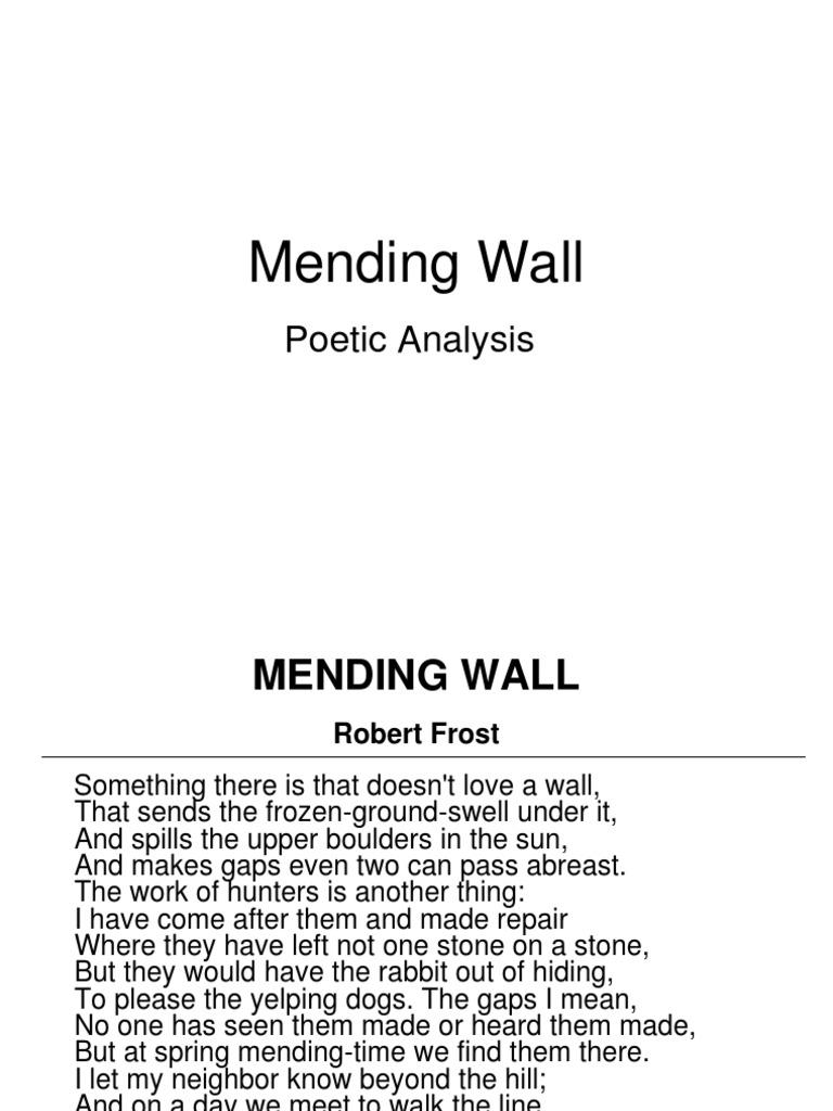 Mending Wall Berlin Wall Languages