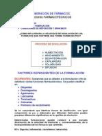 Clase 5b - Factores Farmacotenicos