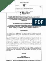 Decreto 971 de 2011 - Agiliación de flujo de recursos