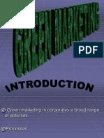 Mm Project Green Marketing
