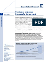 Deutsche Bank Research Container Shipping Report