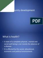 ######Community Development