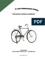 Proposal Pasundan Sepeda Gembira