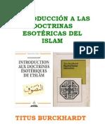 Titus Burckhardt - Esoterismo Islamico